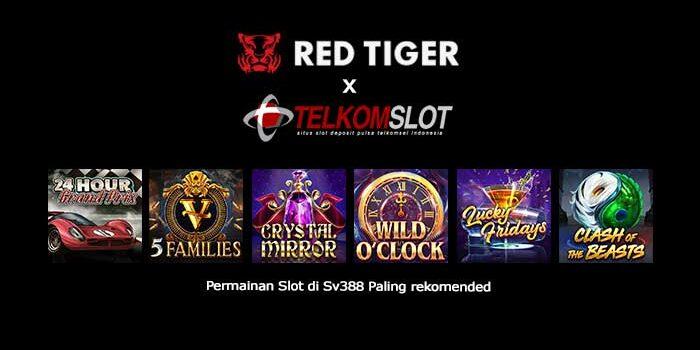 RedTiger, Permainan Slot di Sv388